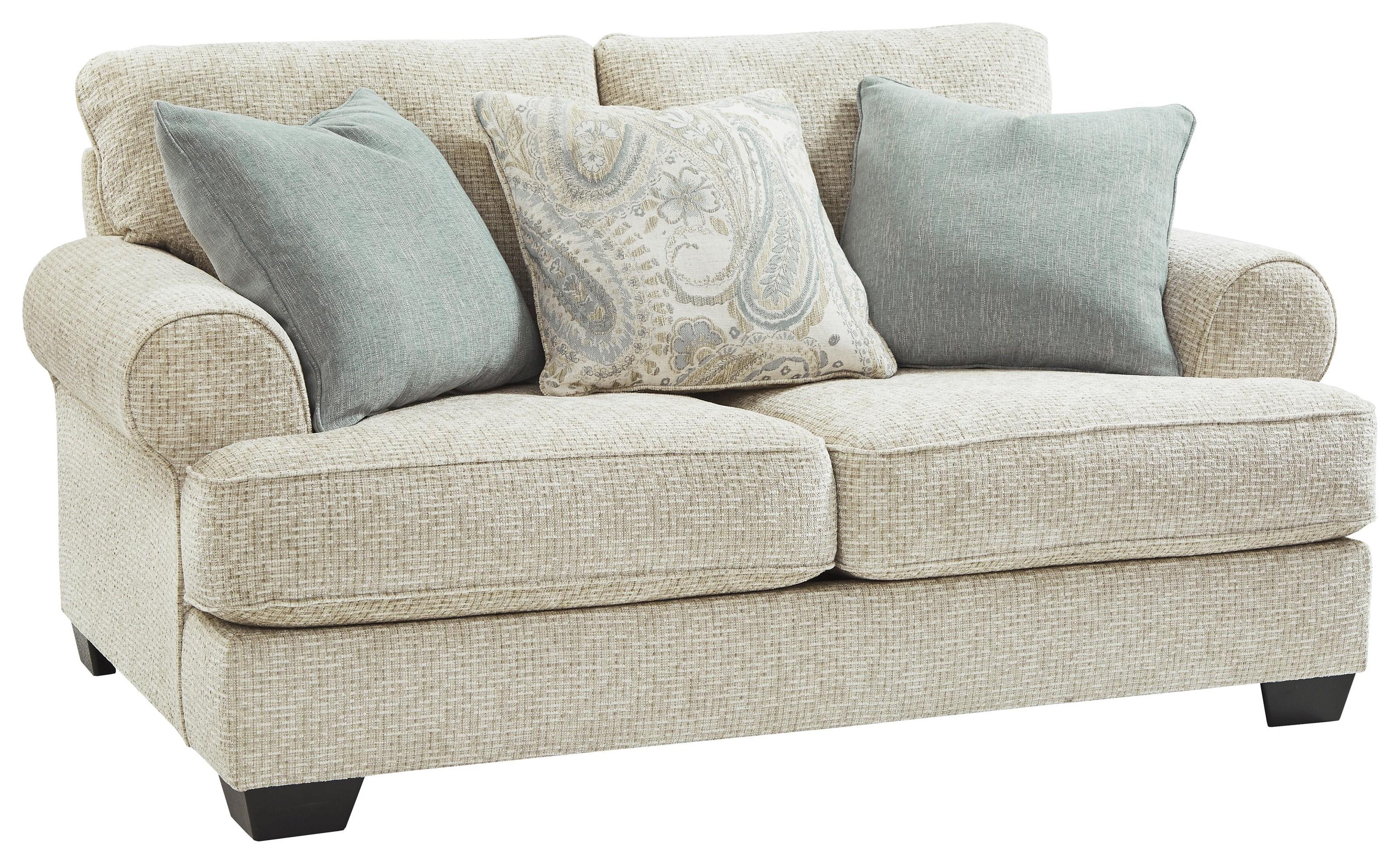Ashley Furniture Monaghan 9620535 Sandstone Loveseat Sam