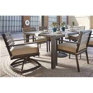 Ashley Outdoor Table Set