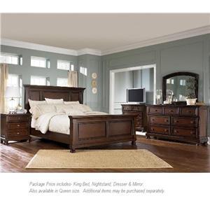 Ashley Furniture Porter 4PC King Bedroom Group