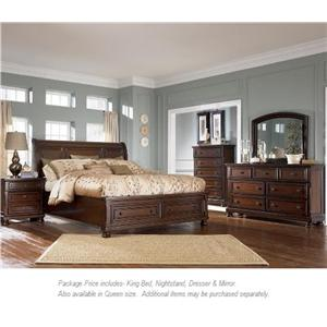 Ashley Furniture Porter 4PC King Bedroom Group