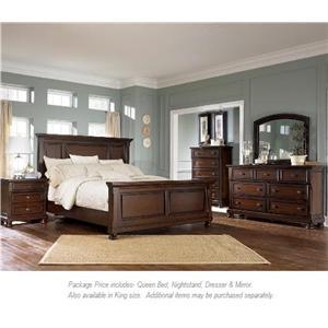 Ashley Furniture Porter 4PC Queen Bedroom