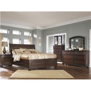 Ashley Furniture Porter House Queen Bedroom Group