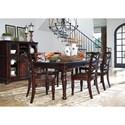 Ashley Furniture Porter Formal Dining Room Group - Item Number: D697 Dining Room Group 1