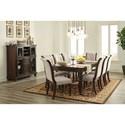 Ashley Furniture Porter Formal Dining Room Group - Item Number: D697 Dining Room Group 10