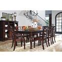 Ashley Furniture Porter Formal Dining Room Group - Item Number: D697 Dining Room Group 2