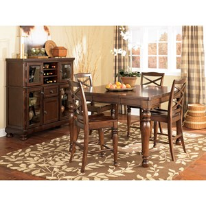 Ashley Furniture Porter Casual Dining Room Group