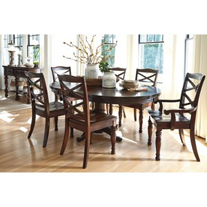 Ashley Furniture Porter House Formal Dining Room Group