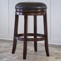 Ashley Furniture Porter Tall Upholstered Swivel Stool - Item Number: D697-330