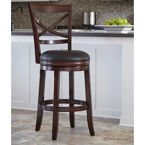 Ashley Furniture Porter House Tall Upholstered Swivel Barstool