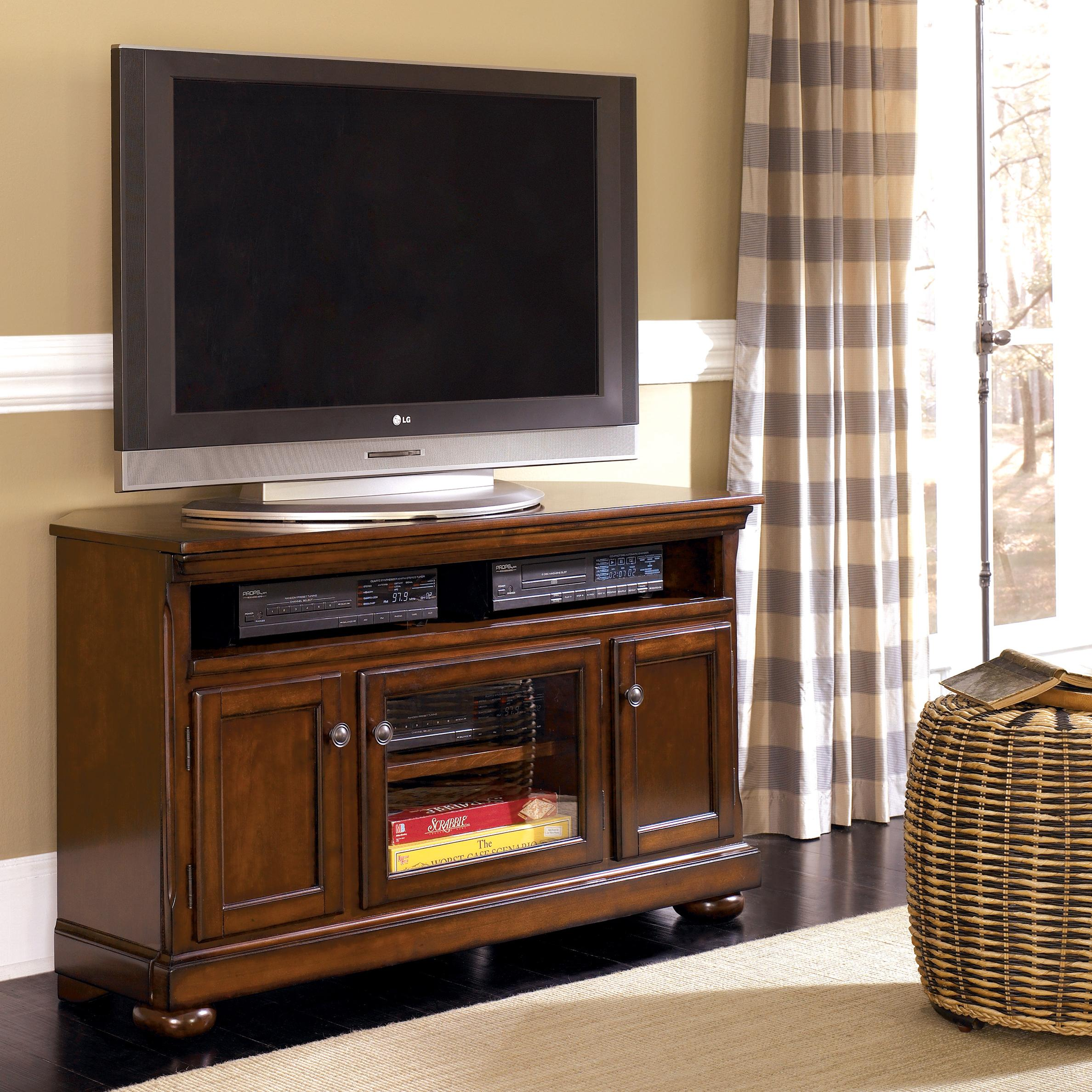 to classy the click ashley lg furniture stands enlarge cupboard brown product trinell tv stand home ash