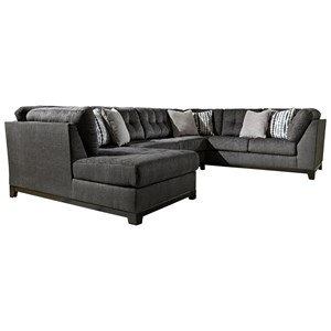Ashley Furniture Reidshire Sectional Sofa with Left Side Chaise