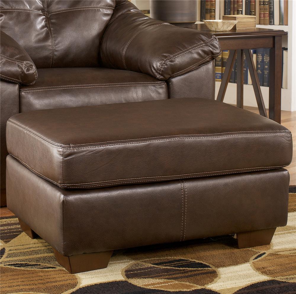 Ashley Furniture San Lucas - Harness Upholstered Ottoman - Item Number: 8370214