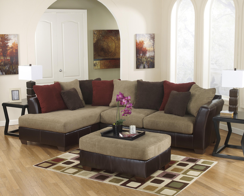 Ashley Furniture Sanya - Mocha Stationary Living Room Group - Item Number: 28400 Living Room Group 6