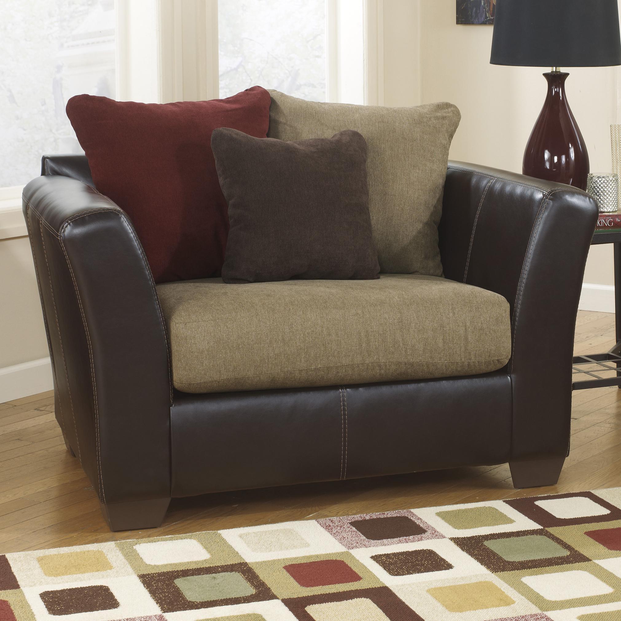 Ashley Furniture Sanya - Mocha Chair and a Half - Item Number: 2840023