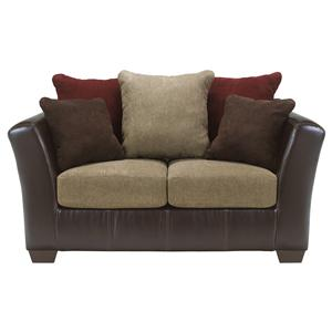 Ashley Furniture Sanya - Mocha Loveseat