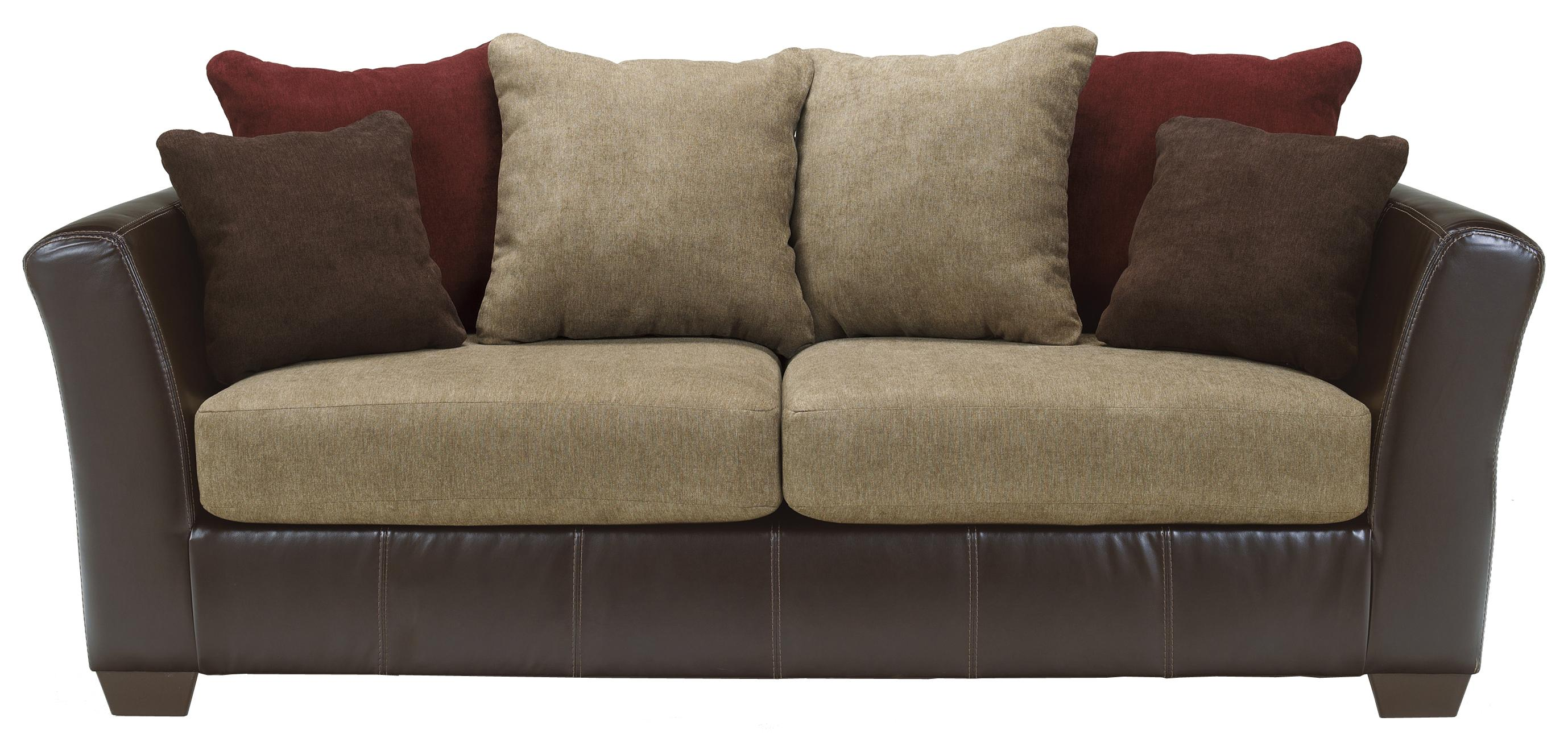 Ashley Furniture Sanya - Mocha Sofa - Item Number: 2840038