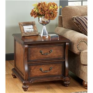 Signature Design by Ashley Furniture Shelton Rectangular End Table