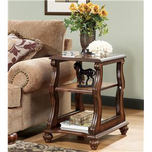Signature Design by Ashley Furniture Shelton Chairside End Table