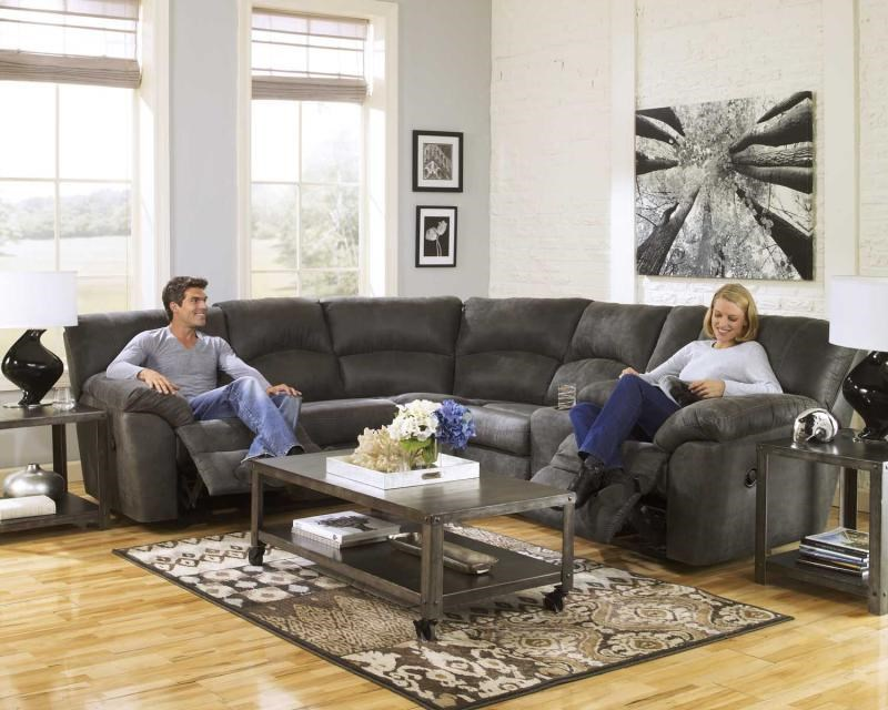 Two Piece Reclining Sectional