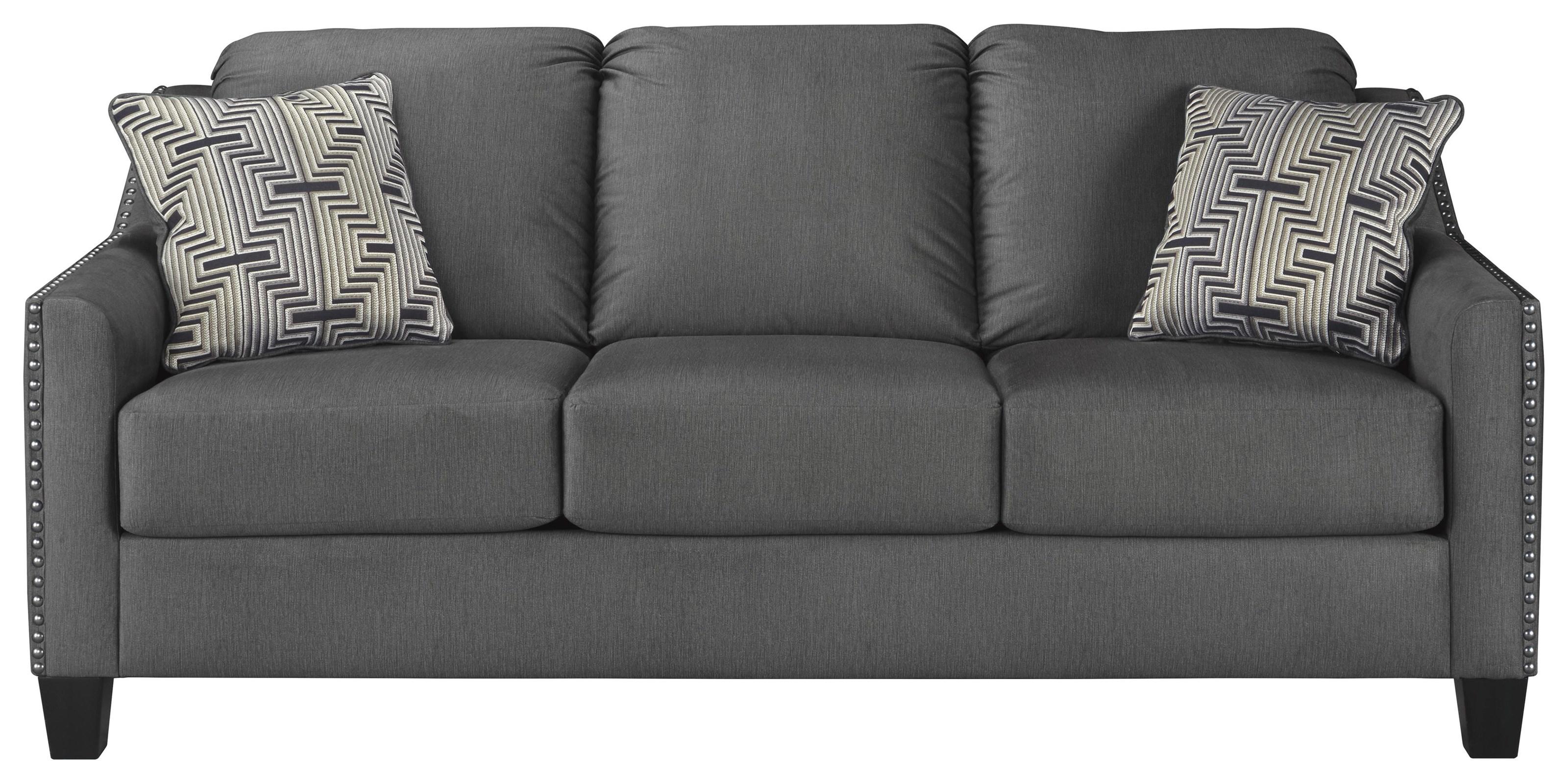 Ashley Furniture Torcello 1130338 Sofa In Graphite Fabric