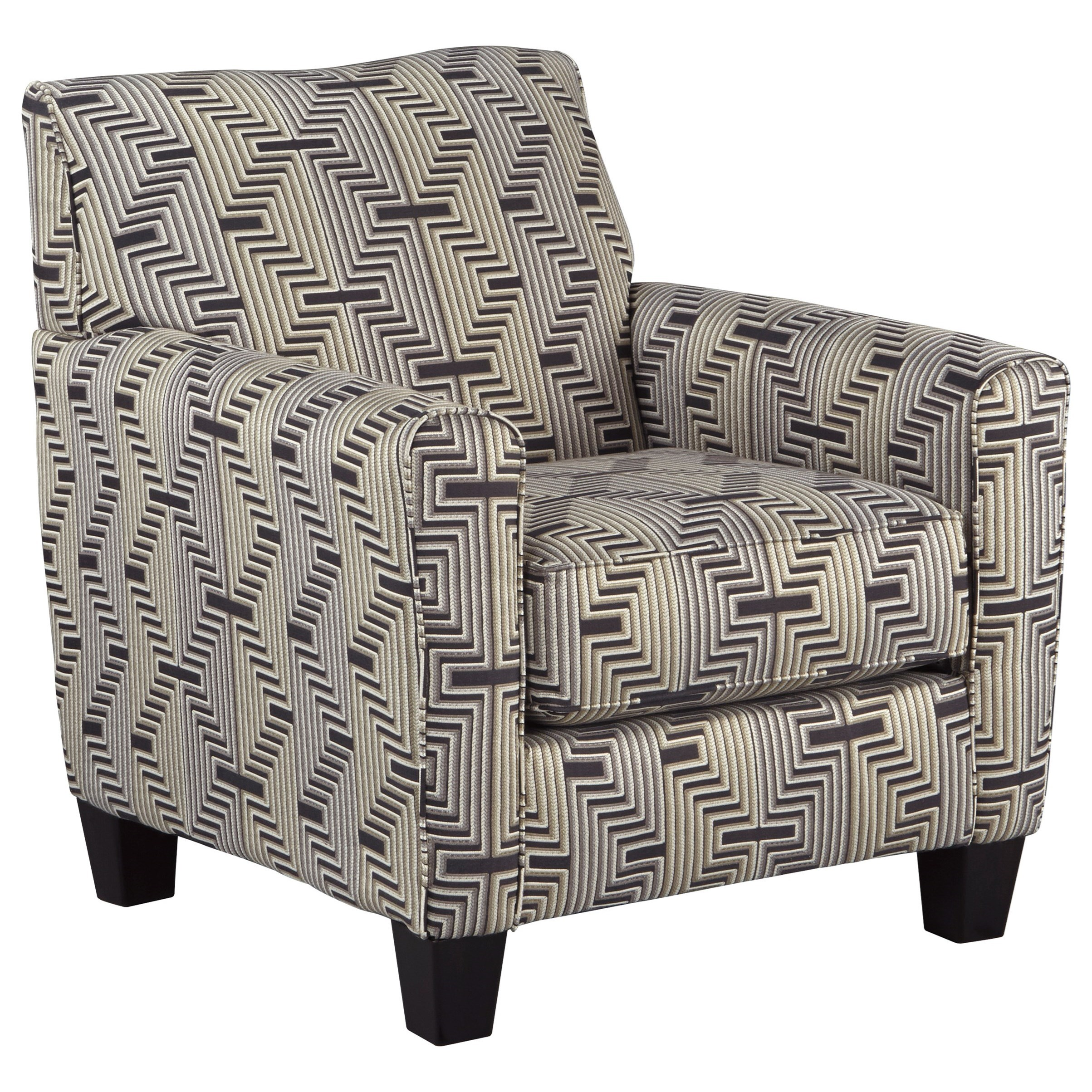 Ashley Furniture Torcello 1130321 Accent Chair With Zig Zag Fabric