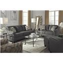 Ashley Furniture Torcello Sofa, Loveseat and Accent Chair - Item Number: 122311347