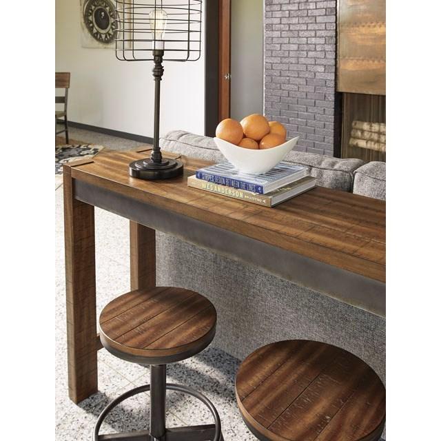 Ashley Furniture Kenosha: Signature Design By Ashley Torjin D440-52 Rustic Long