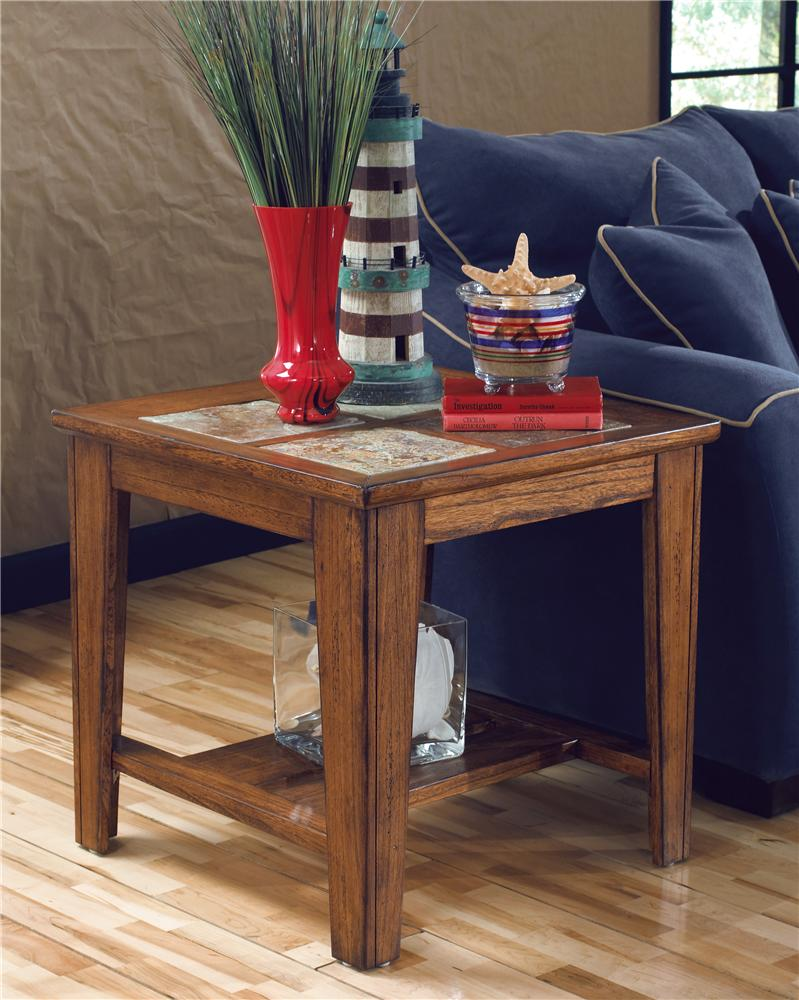 Signature Design by Ashley Toscana Square End Table - Item Number: T353-2