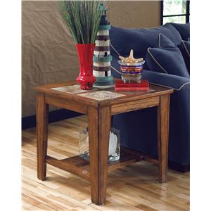 Signature Design by Ashley Furniture Toscana Square End Table