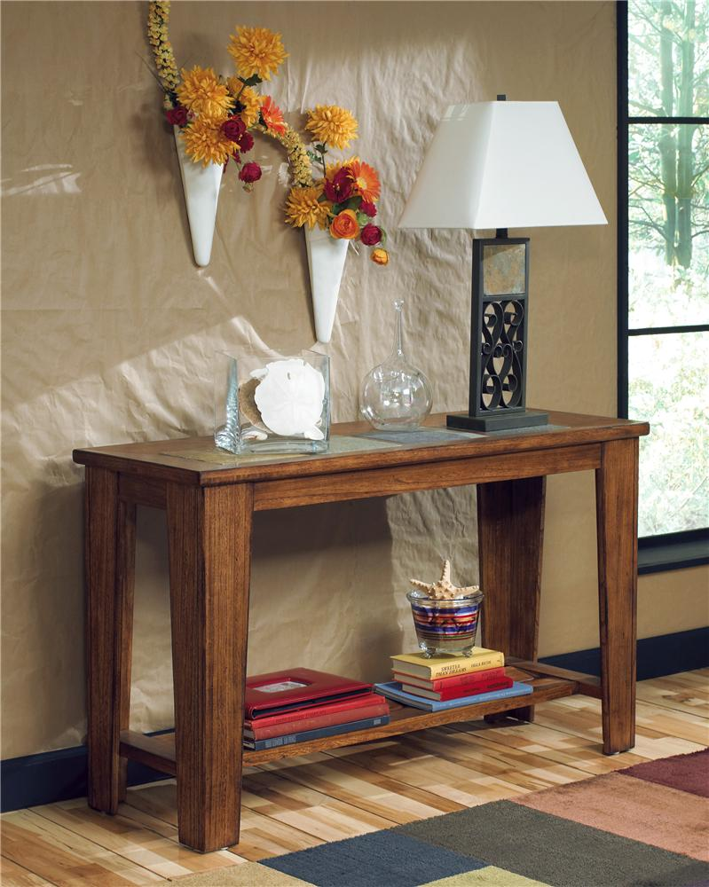 Signature Design by Ashley Toscana Sofa Table - Item Number: T353-4