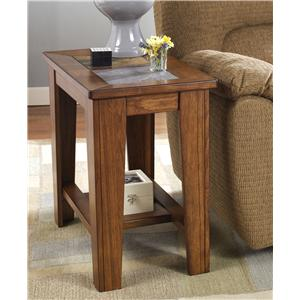 Signature Design by Ashley Furniture Toscana Chairside End Table
