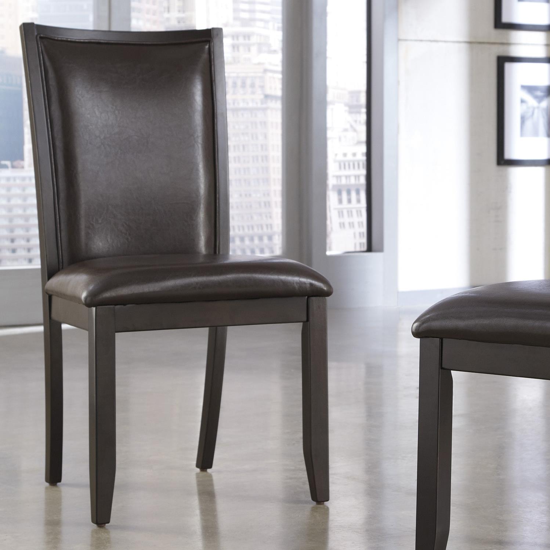 Ashley Furniture Trishelle Dining Upholstered Side Chair - Item Number: D550-02