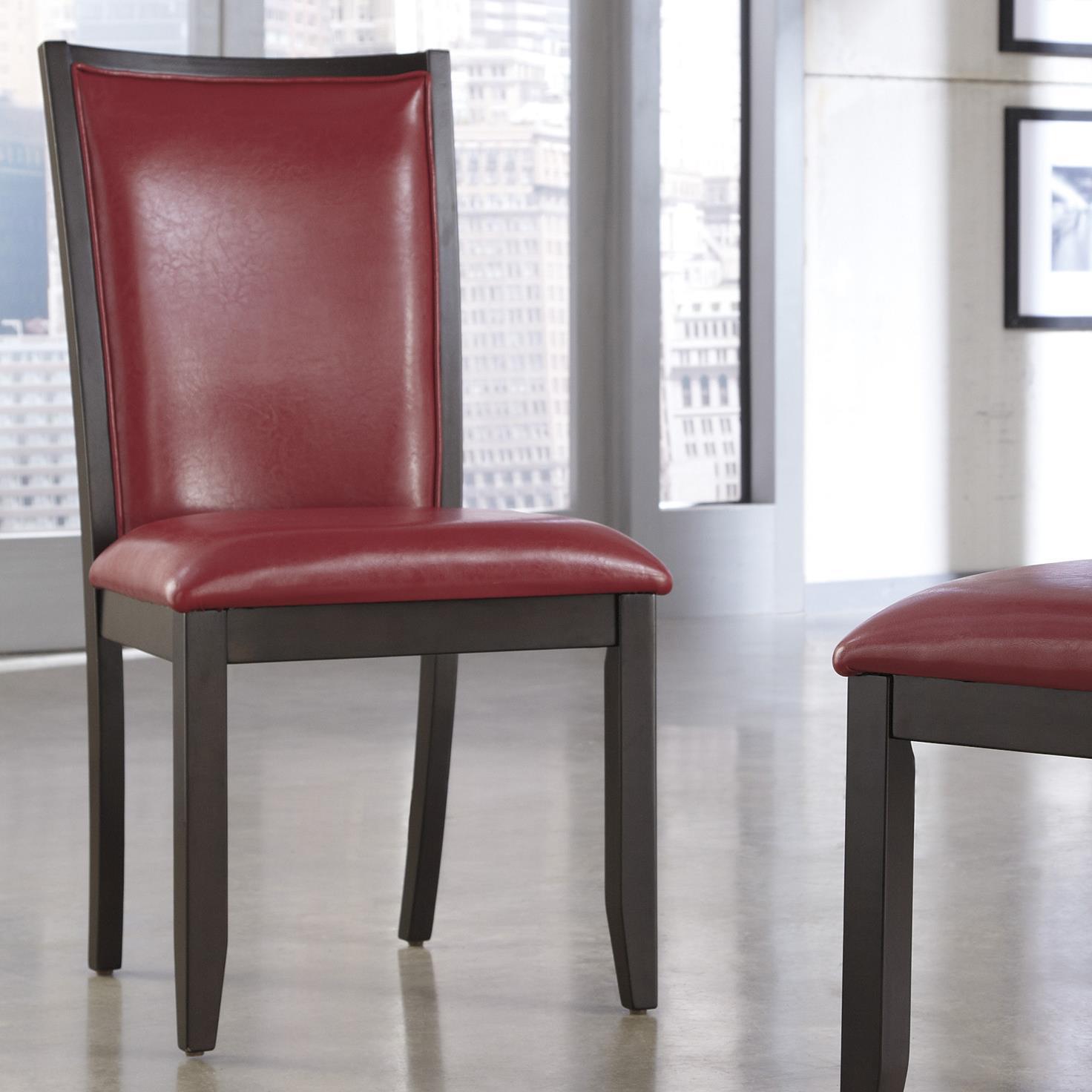 Ashley Furniture Trishelle Dining Upholstered Side Chair - Item Number: D550-04
