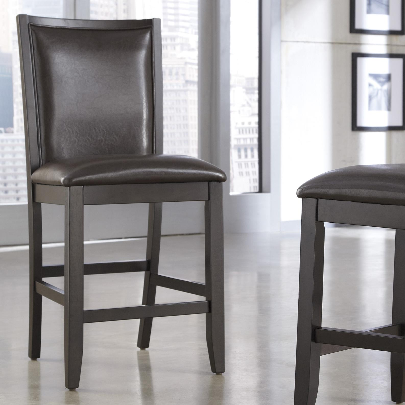 Ashley Furniture Trishelle Upholstered Barstool - Item Number: D550-224