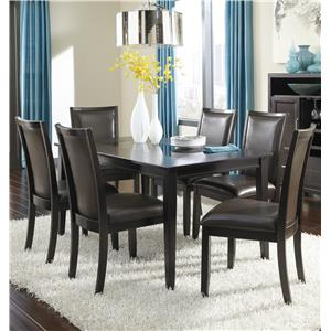 Ashley Furniture Trishelle 7-Piece Rectangular Dining Table Set