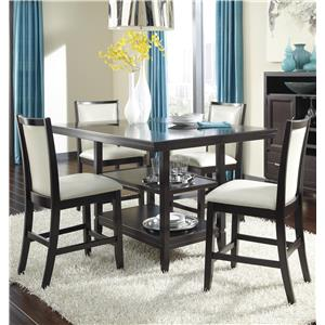 Ashley Furniture Trishelle 5-Piece Counter Table Set