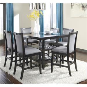 Ashley Furniture Trishelle 7-Piece Counter Table Set