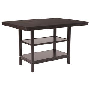 Ashley Furniture Trishelle Rectangular Dining Room Counter Table
