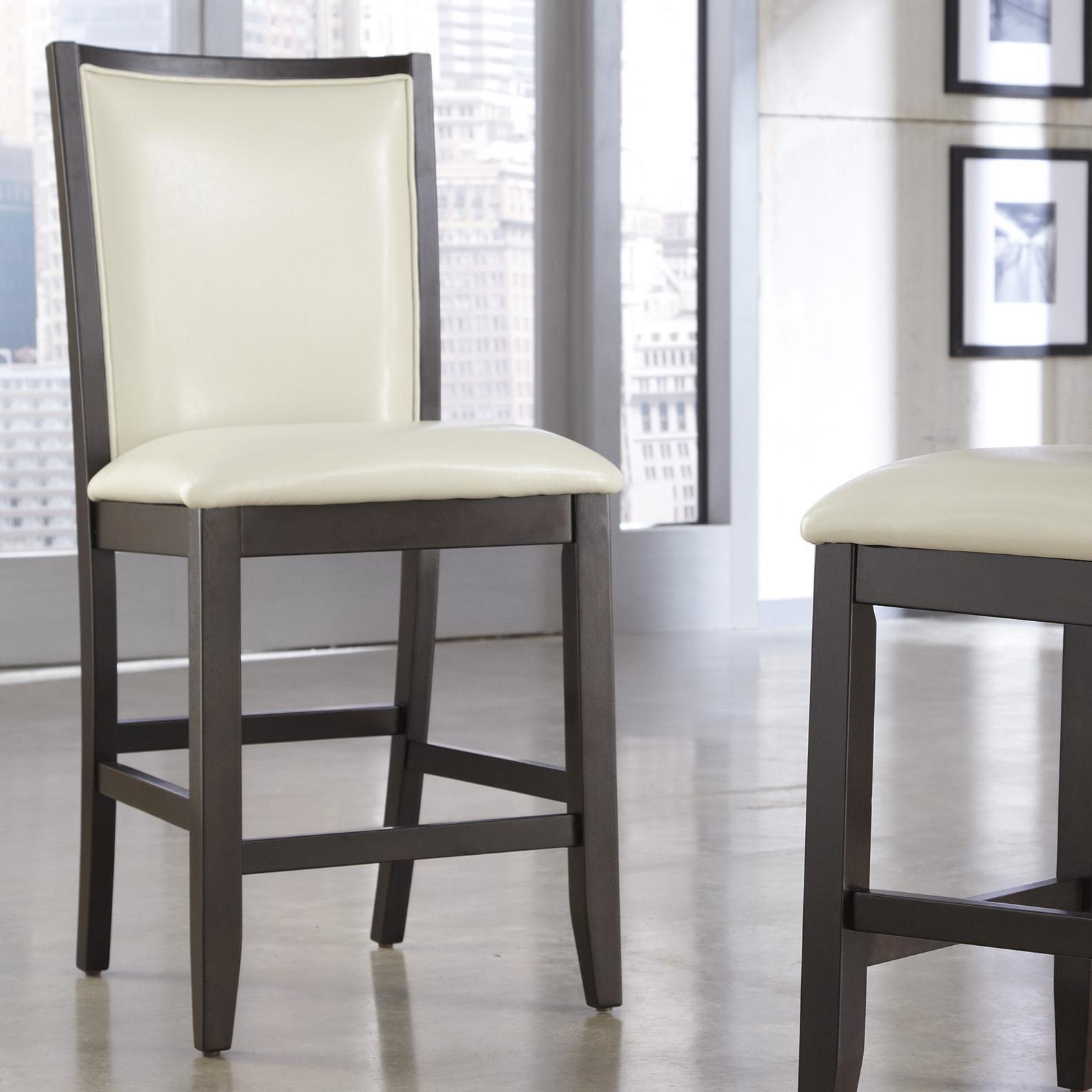 Ashley Furniture Trishelle Upholstered Barstool - Item Number: D550-324