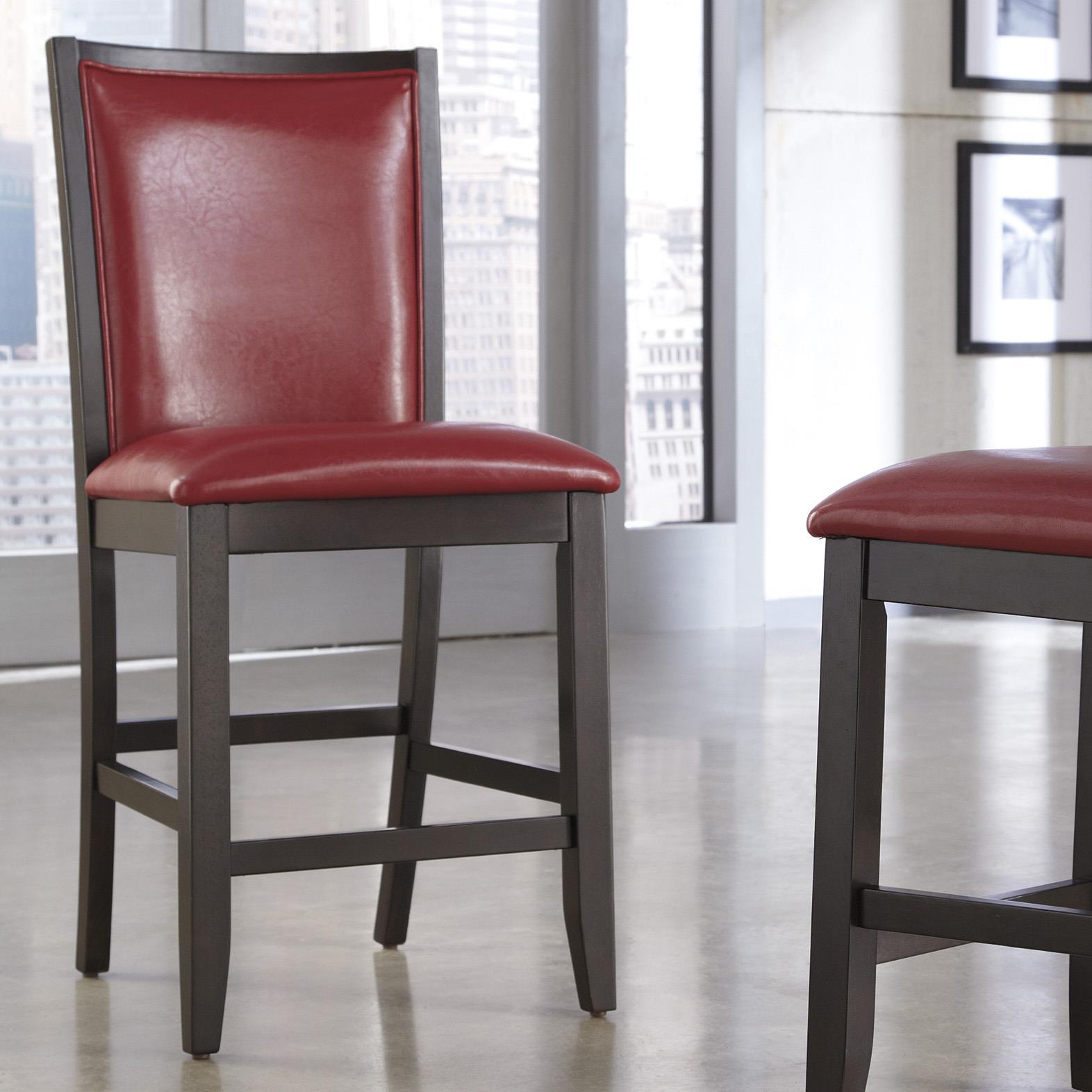 Ashley Furniture Trishelle Upholstered Barstool - Item Number: D550-424