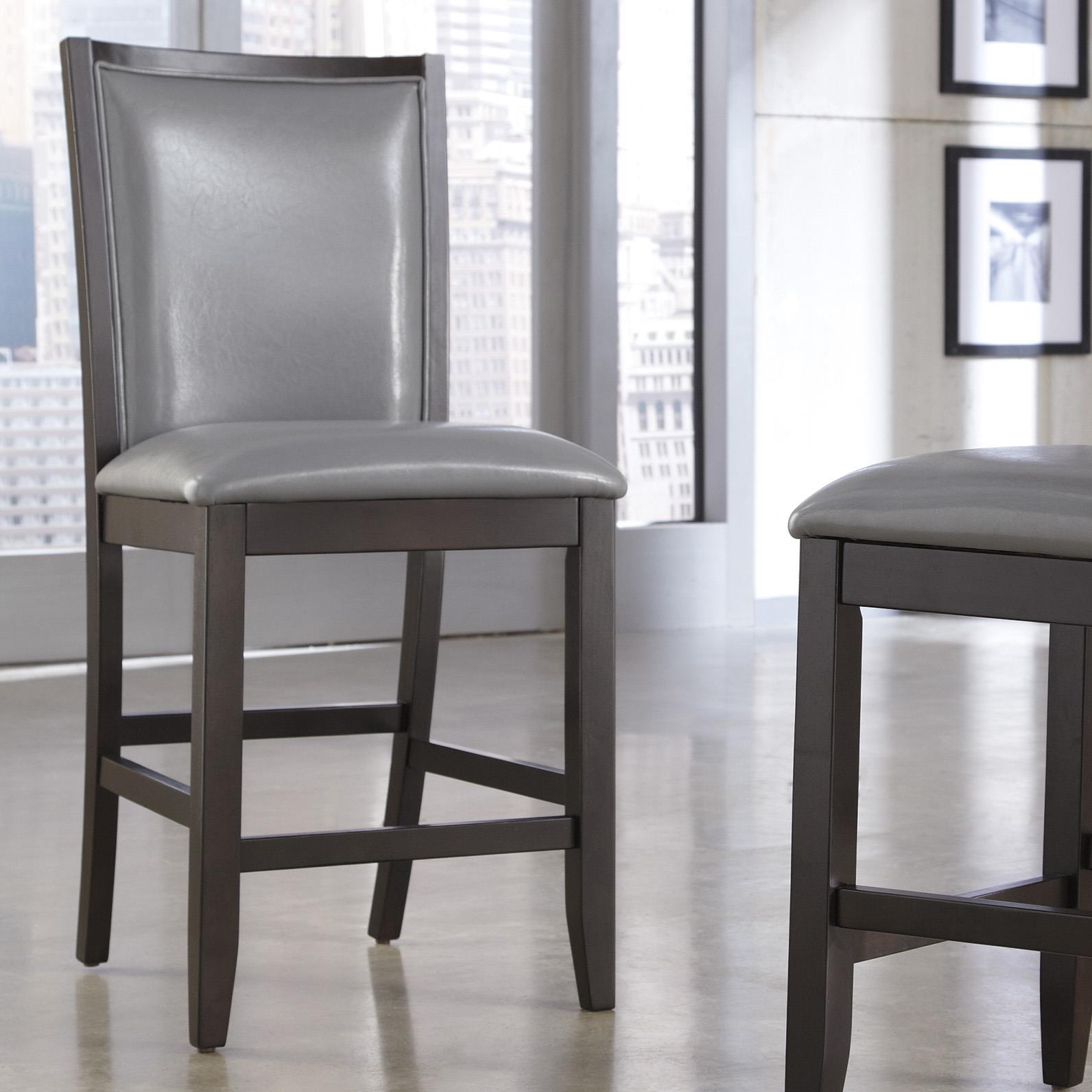 Ashley Furniture Trishelle Upholstered Barstool - Item Number: D550-524