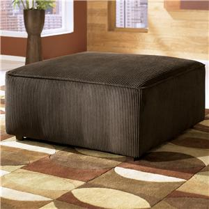 Ashley Furniture Vista - Chocolate Ottoman
