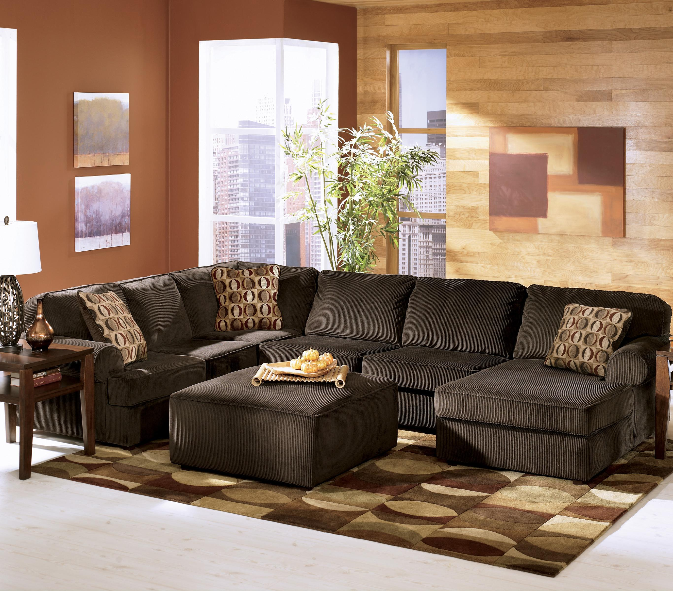 Ashley Furniture Sales Ad: Chocolate Casual 3-Piece