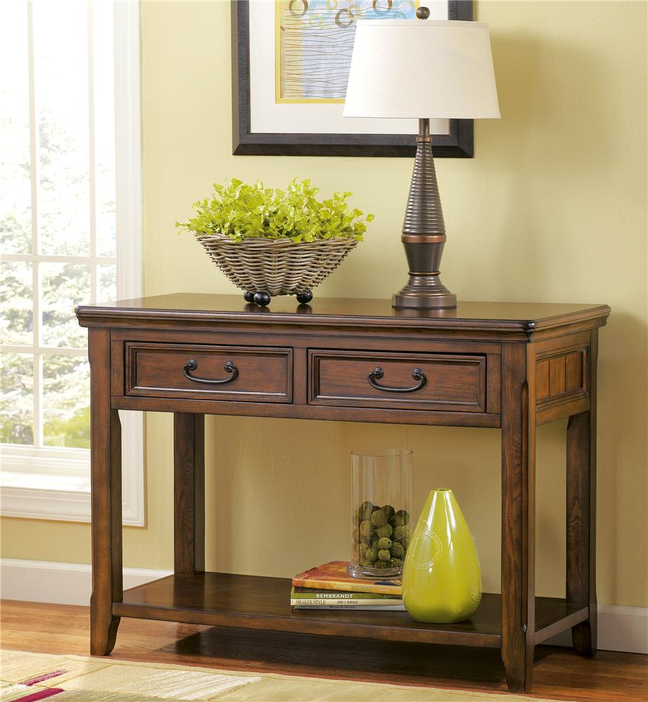 Ashley Furniture Signature Collection: Signature Design By Ashley Woodboro T478-4 Sofa Table