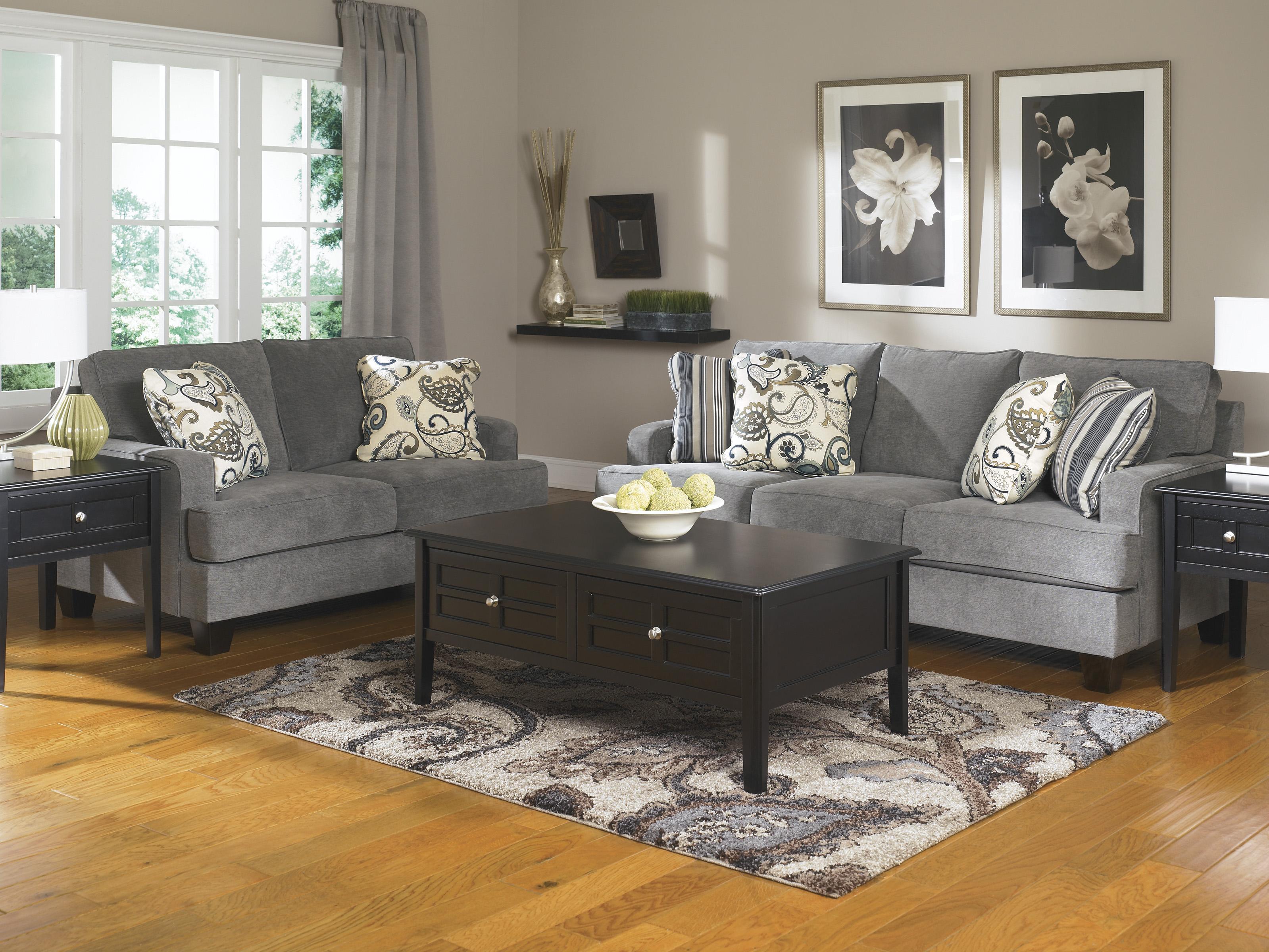 Ashley Furniture Yvette Steel Stationary Living Room Group