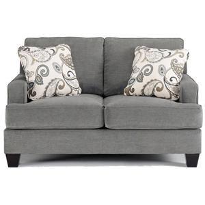 Ashley Furniture Yvette - Steel Loveseat