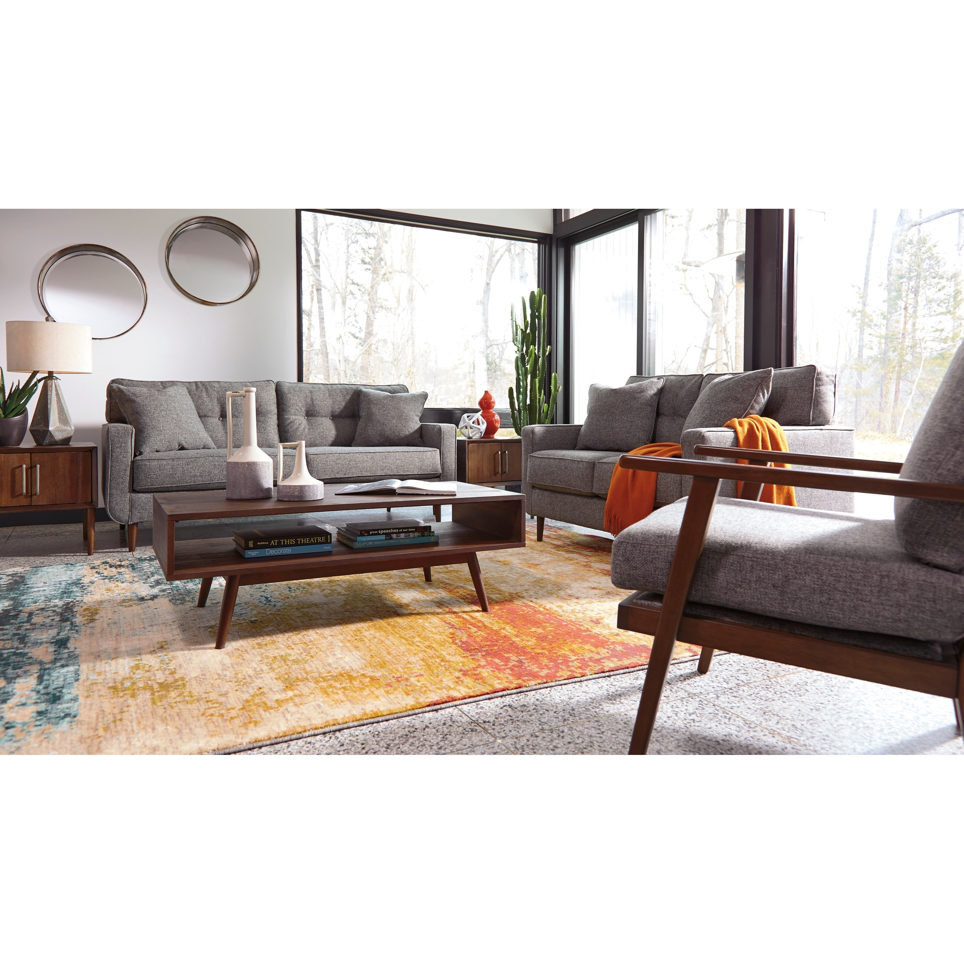 Ashley Furniture Zardoni Stationary Living Room Group