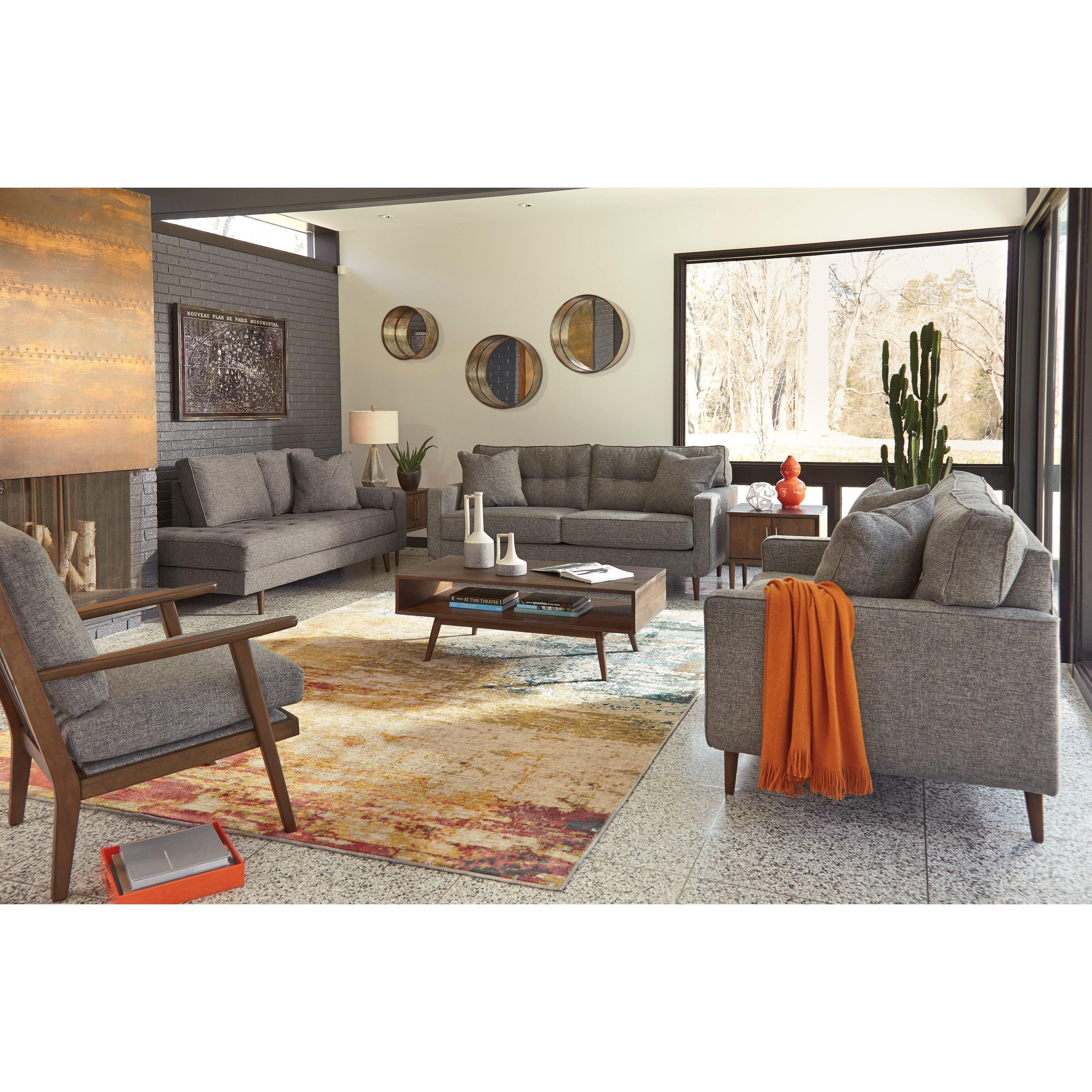 Ashley Furniture Zardoni 1140235 Mid Century Modern