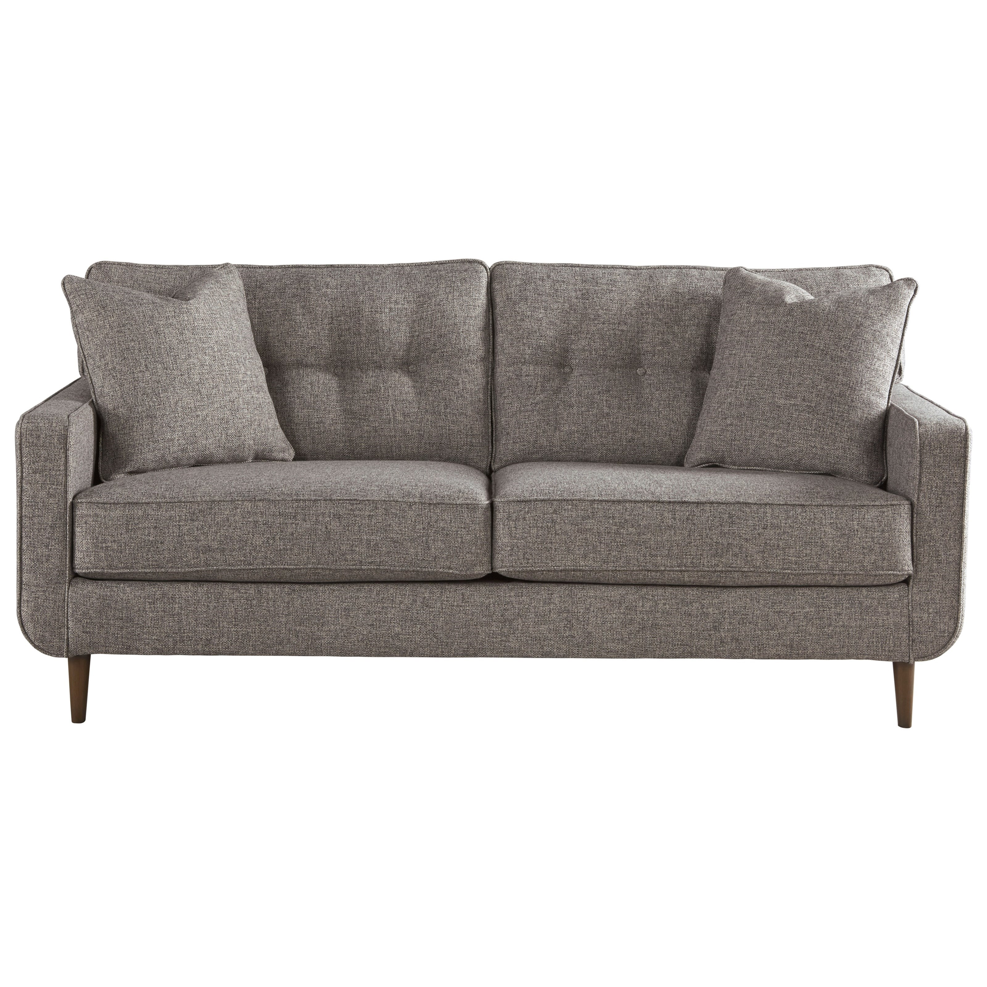Ashley Furniture Zardoni Mid Century Modern Sofa Furniture and