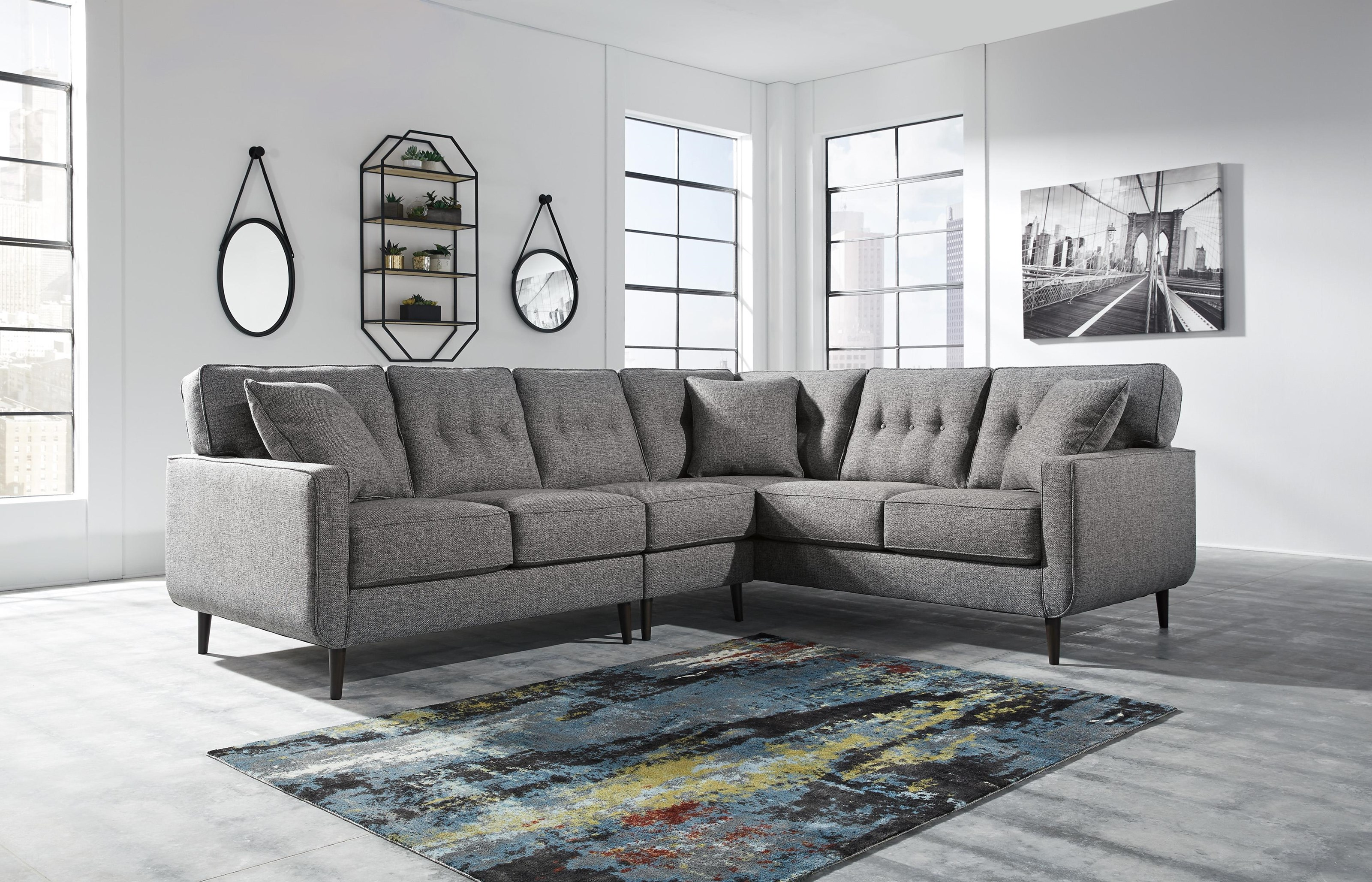 Ashley Furniture Zardoni 11402 49 55 46 3 Piece Right Arm Facing